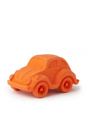 Oli & Carol Bath toy orange car