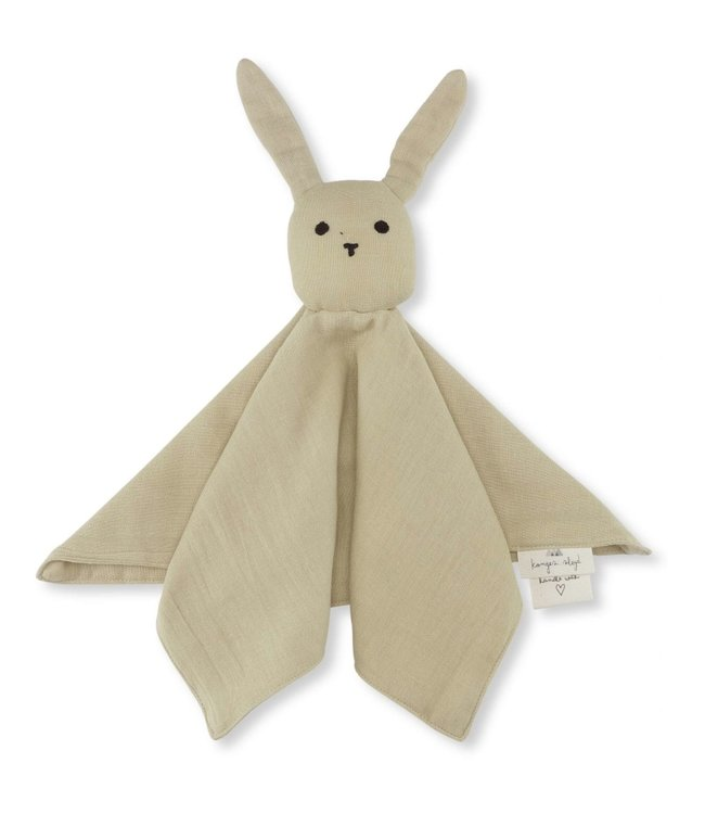 Knuffeldoekje konijn - sand