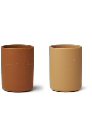 Liewood Ethan cup 2 pack - yellow mix