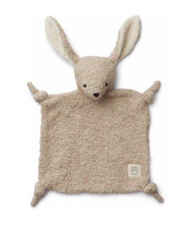 Liewood Lotte cuddle cloth - rabit pale grey