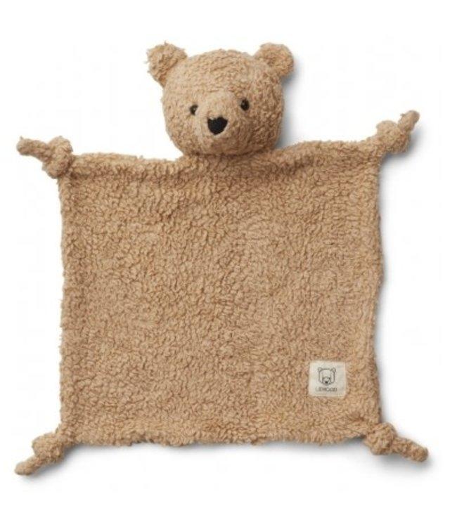 Liewood Lotte cuddle cloth - bear beige