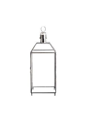 Tine K Home Messing lantaarn met glas - zilver