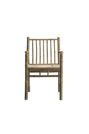 Tine K Home Bamboo dining chair w. armrest, natural
