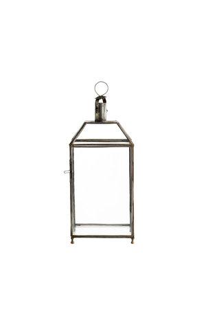 Tine K Home Messing lantaarn met glas