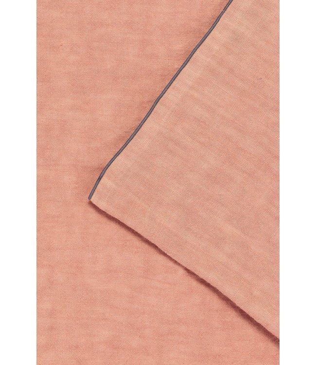 Placemat Selena, washed linen - bois de rose