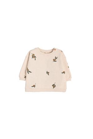 Organic Zoo Sweatshirt 'olive garden'