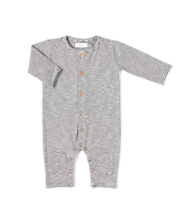Butt onesie - stripe