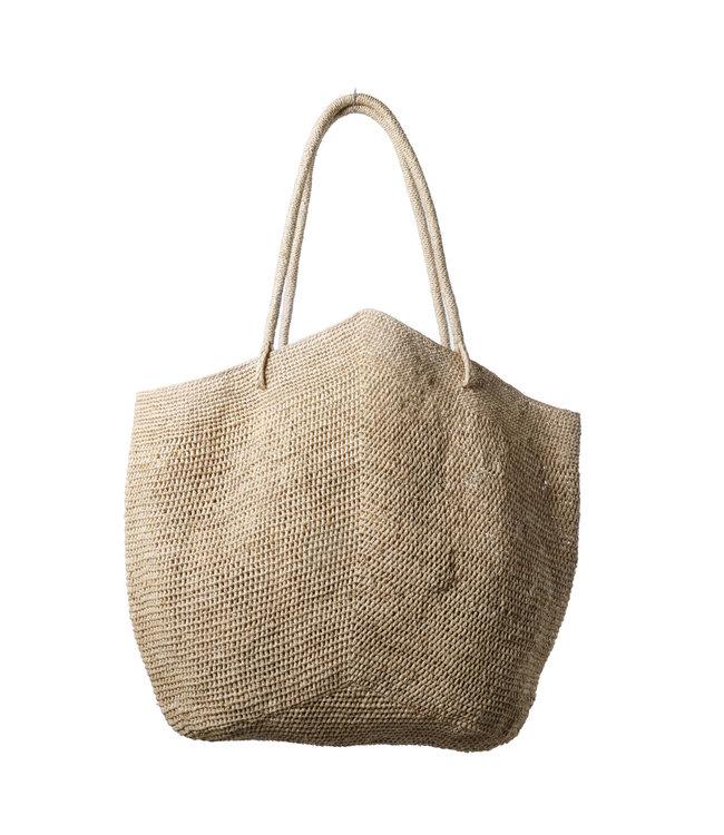 Gemma bag, natural - L