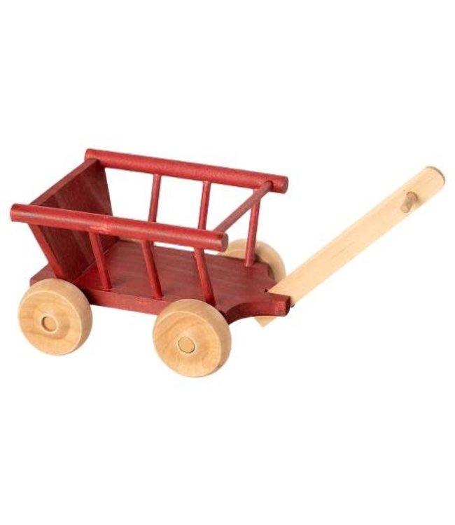 Wagon, micro - dusty red