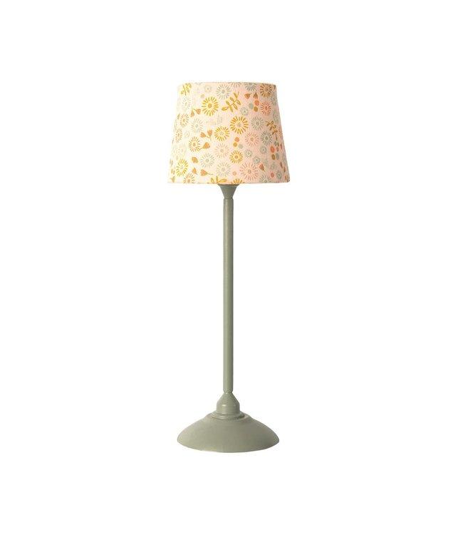 Maileg Miniature floor lamp - mint