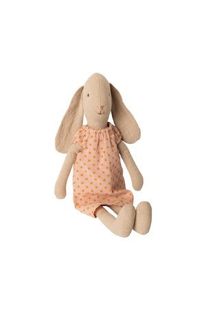 Maileg Bunny size 2, nightgown - rose