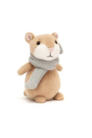 Jellycat Limited Happy cinnamon hamster mini