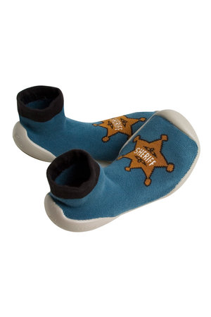 Collégien Slippers chaussettes - sheriff