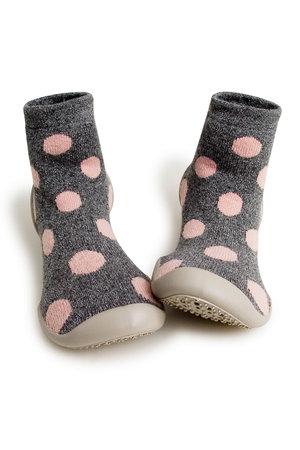 Collégien Slippers - snow balls cashemire et laine