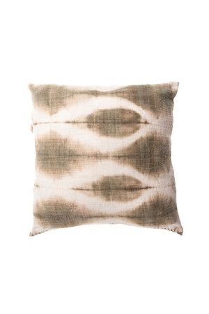 Cushion losange aqua green
