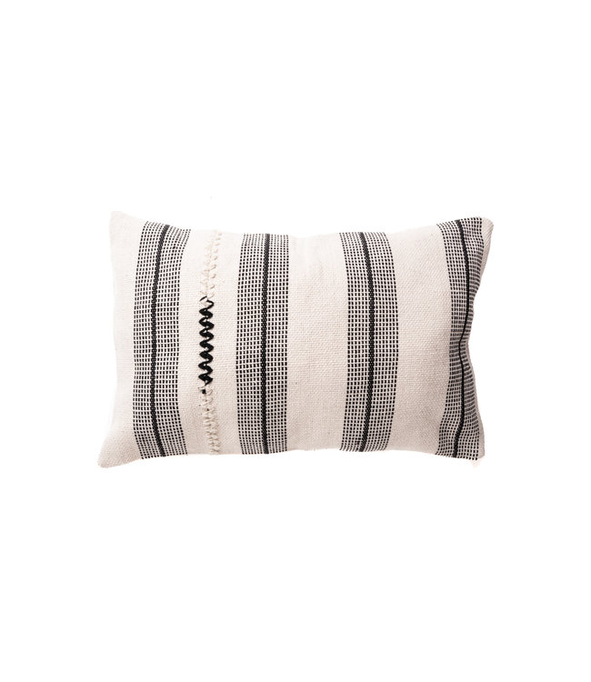 Cushion escalera - india white