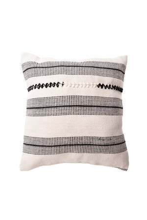 Cushion escalera india white