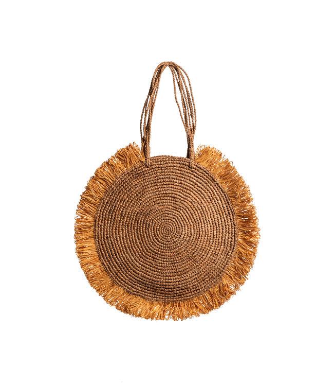 Soleil large bag the/ocre