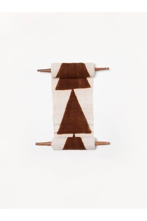 AAAA Bogolan totem - intention - white/brown