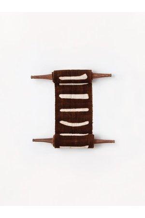 AAAA Bogolan totem - stability - bruin/wit