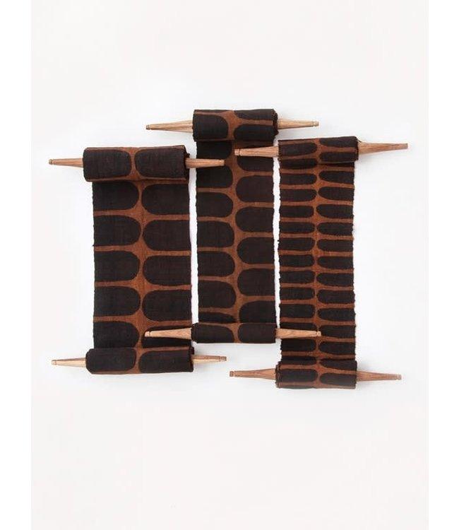 Bogolan totem - flexibility - brown/black
