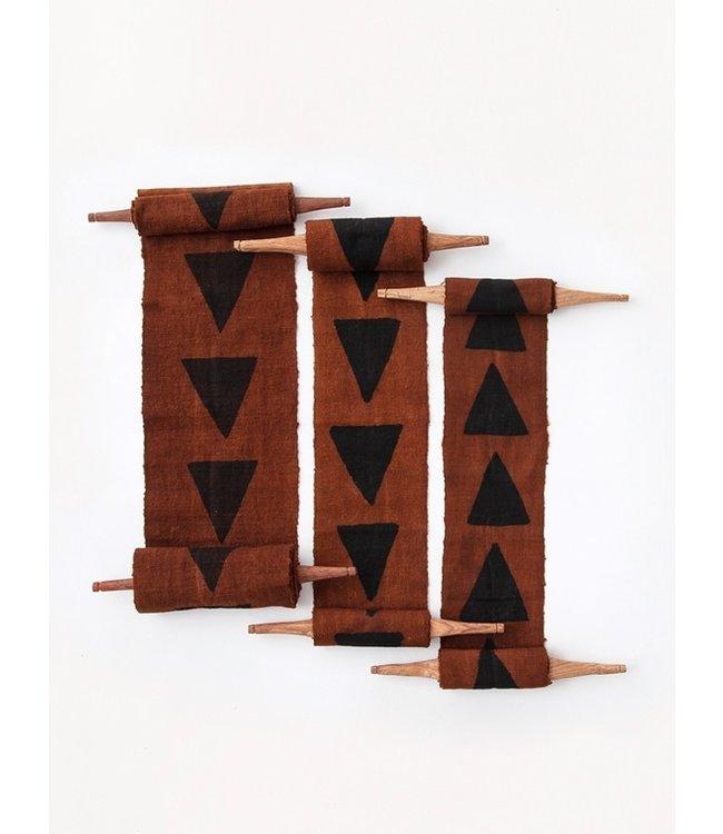 Bogolan totem - purpose - brown/black