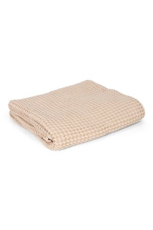 Mallino Waffle blanket - almond