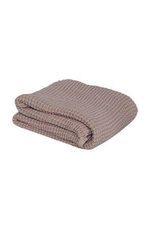 Mallino Waffle blanket - powder