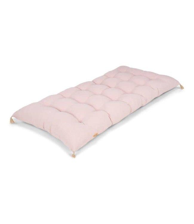 Mallino Linnen matras - powder pink