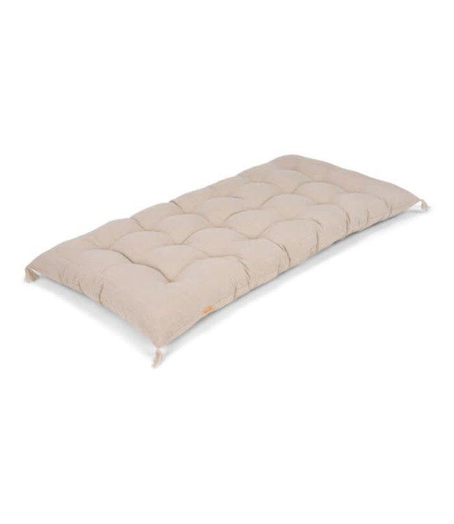 Linen mattress - natural