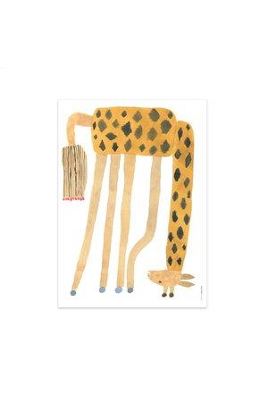 OYOY MINI Noah giraf ondersteboven - poster