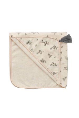 garbo&friends Baby hooded towel - bluebell