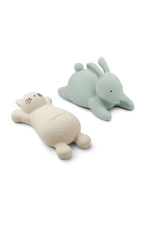 Liewood Vikky bath toys 2 pack - cat creme de la creme