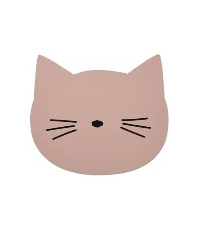 Aura placemat - cat rose
