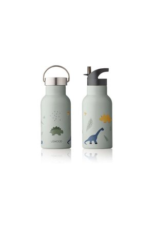 Liewood Anker waterfles - dino dove blue mix