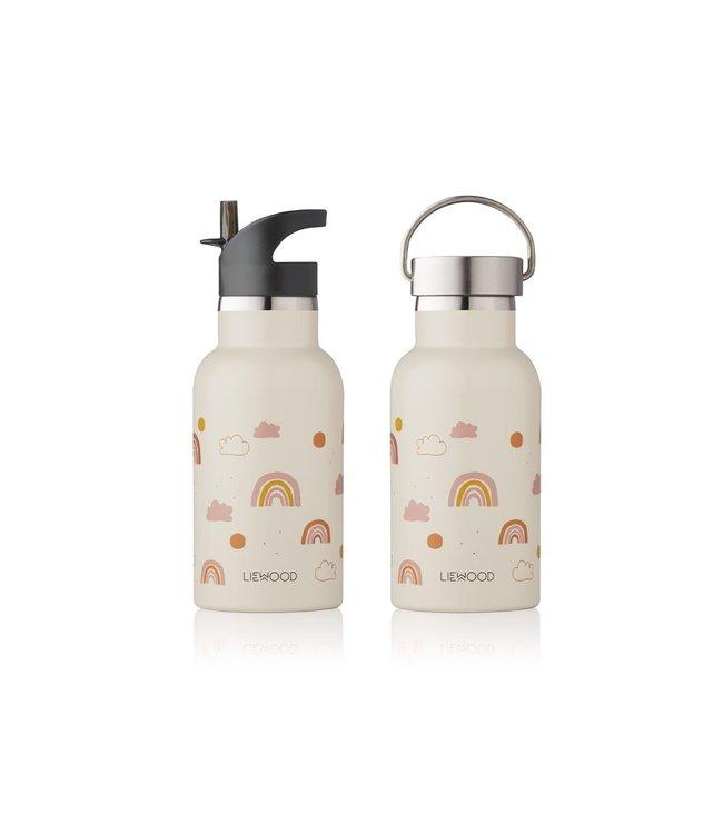 Anker water bottle - rainbow love sandy