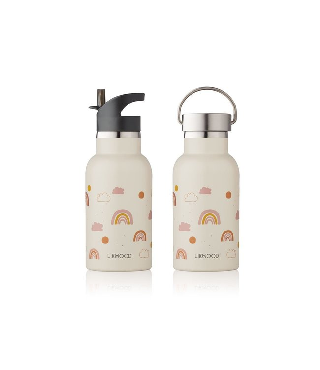 Liewood Anker water bottle - rainbow love sandy