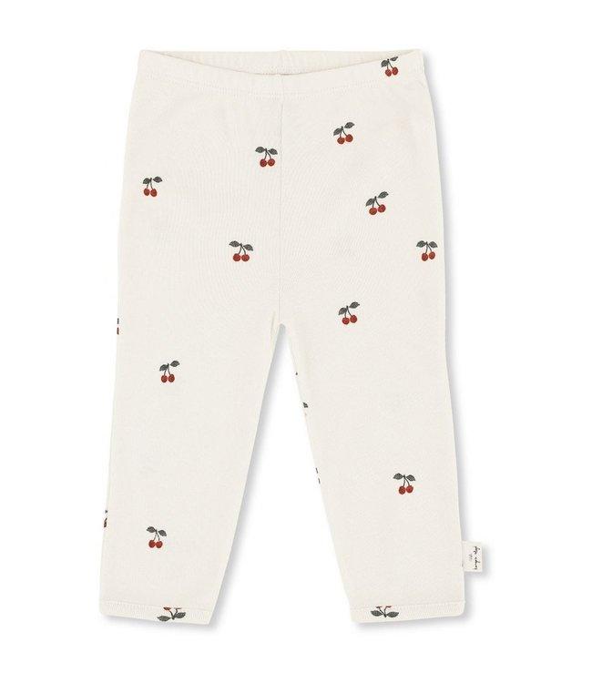 New born pants - cherry
