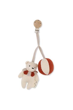 Konges Sløjd Bear clip-on - toffee