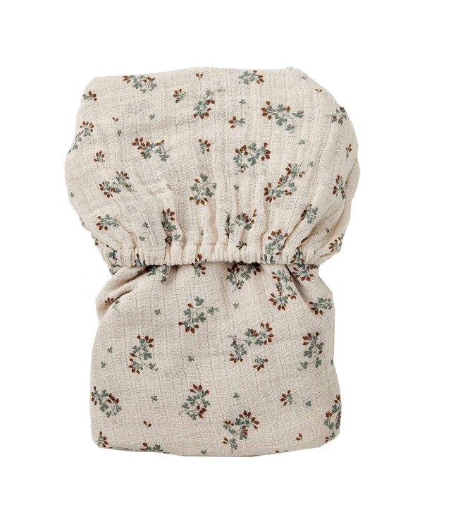 Clover muslin fitted sheet junior