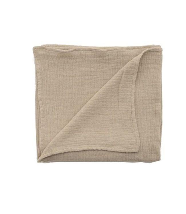 garbo&friends Olive muslin swaddle blanket