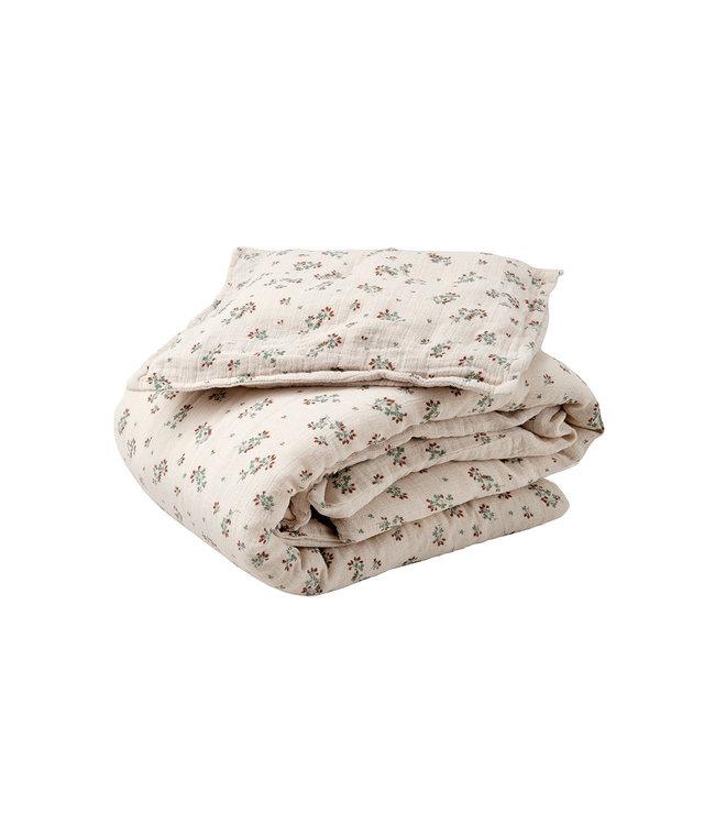 Clover muslin bed set