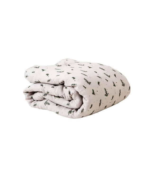 garbo&friends Rosemary muslin filled quilt