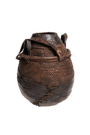Borana Chocho milk container - basket #15