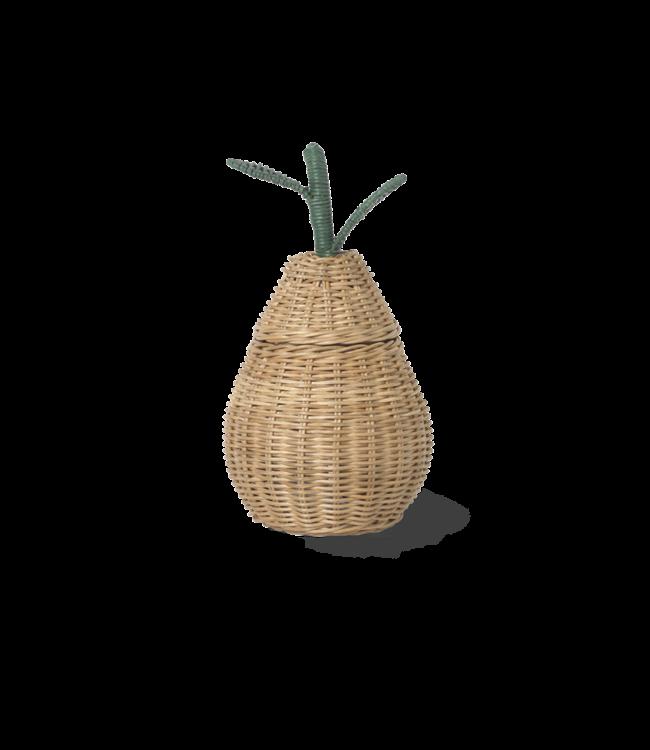 Ferm Living Pear braided storage - mini