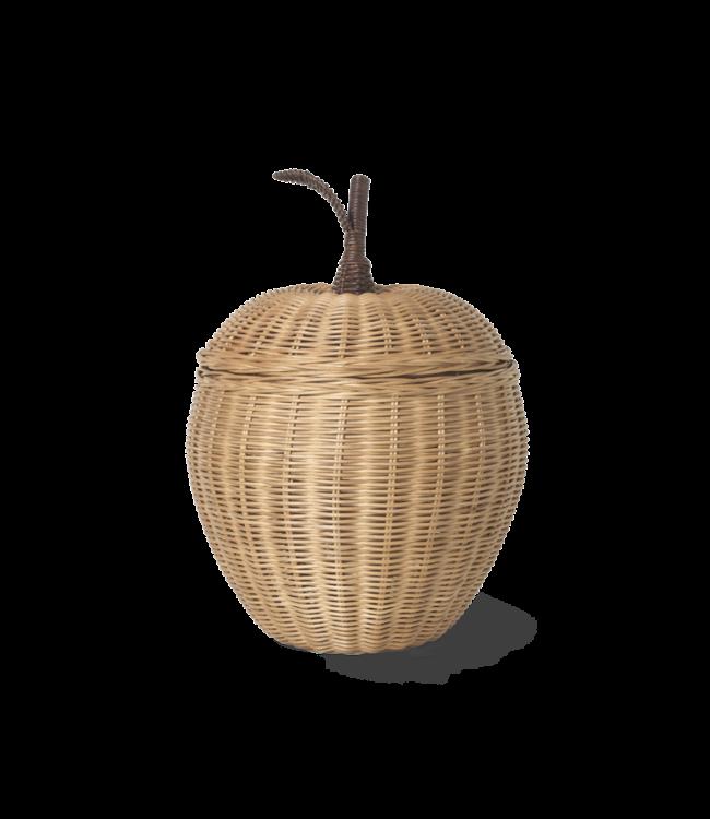 Storage basket apple - mini