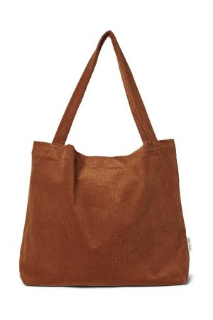 Studio Noos Bruine rib mom-bag