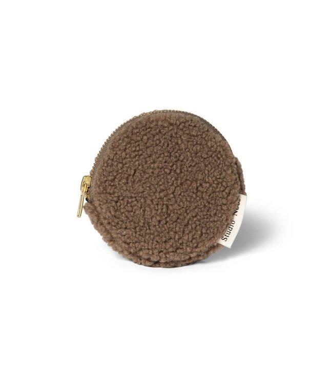Chunky portemonnee bruin