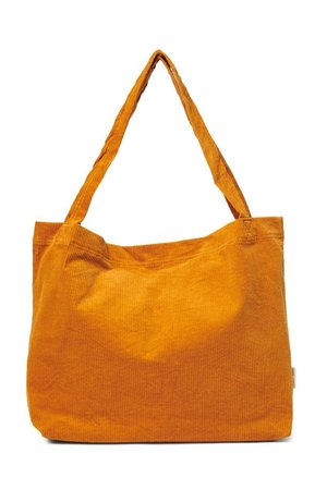 Studio Noos Orange rib mom-bag