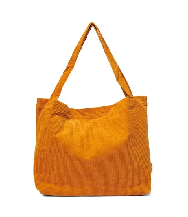Studio Noos Oranje rib mom-bag